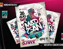 Rap Artist Concert Flyer