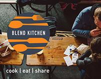 Blend Kitchen Brand Identity