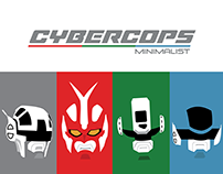 Cybercops Minimalist - T-shirts, posters and wallpapers