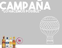 """Diageo - Propuesta Campaña """"Lo hacemos posible"""" RRHH"""