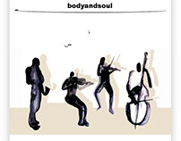 CD Body and soul, study for cover