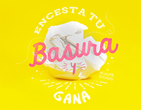 Basucesta - recycling campaign