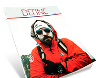 Define Magazine: Identity & Layout
