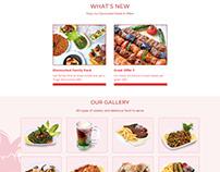 Restaurant web application