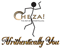 Cheza! and Afrithentically You Logos