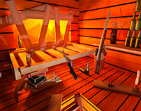 3D Modeling Sniper's Nest