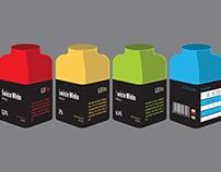 Packaging design - milk