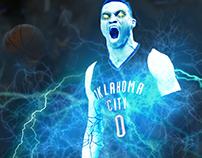 Westbrook God of Thunder