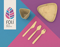 Folí :: Utensílios de bambu para festas
