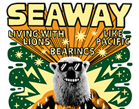 Seaway - 2018 Summer Tour Poster