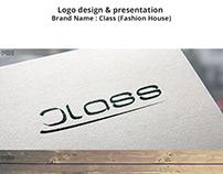 Logo design for Class (Fashion House)
