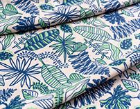 Botanical pattern designs SS18