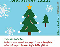Christmas Tree Craft Kit