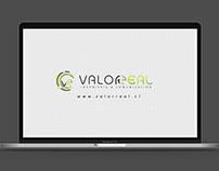 Animación de Logo Valorreal - Chile