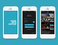 Moss Arts Center Mobile App