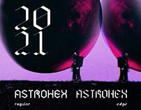 Astrohex - Free Retro Inspired Font