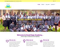 Good Hope Academy's Website
