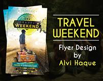 Travel Weekend | Travel Flyer Design
