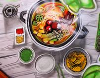 Graffiti: Hotpot