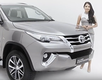 All New Fortuner 2016 Video Exploration