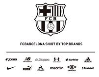FCBarcelona shirt by top brands
