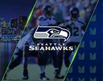 Seahawks Vertical Monitor