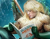 Mackenzie Davis as Mera Aquaman Fan Art
