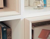 Bookshelf for Bellemaison