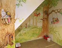 """""""Forest Little Crowd"""" in Witek room ( Warsow - Poland )"""