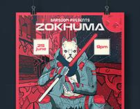 Zokhuma : Gig Poster