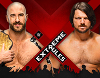 WWE Extreme Rules Match Card Set