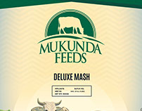 Logo and Product Bag design for Mukunda Feeds
