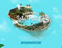 Bienvenidos a Isla frutalia  Granini