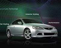 Acura RSX Microsite