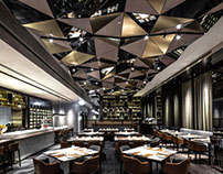 Hong-Kong Restaurant by Kokaistudios