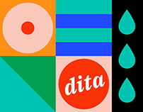 Dita brand identity