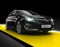 International Campaign - Full CGI - Opel Insignia