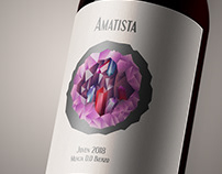Wine Label: Amatista
