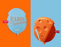 Bourjois-Bon appétit, Paris