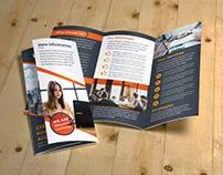 Marketing Agency Trifold Brochure