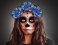 CATRINA/Halloween Lovin'lavida Blog