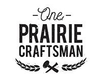 One Prairie Craftsman Brand Identity
