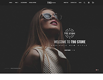 T90 - Fashion eCommerce Bootstrap 4 Template