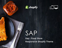Sap – Food Store Responsive Shopify Theme
