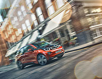 BMW i3 London shoot