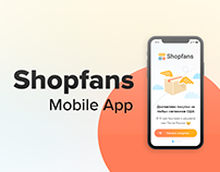 Shopfans Mobile App