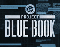 Project Blue Book - Title Sequence