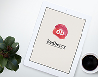 Redberry . Art Gallery . Branding & website