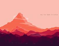"""Landscape """"Eu To Bem Triste"""""""