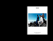 Kenzo Corporate Leaflet | Art Direction | Editorial
